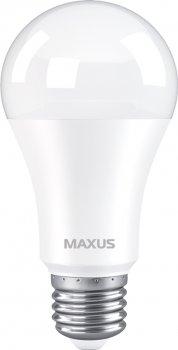Лампа світлодіодна MAXUS A60 12 Вт 3000 K 220 В E27 (1-LED-777)