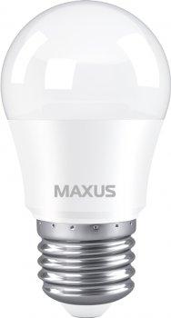 Лампа світлодіодна MAXUS G45 5 Вт 4100 K 220 В E27 (1-LED-742)