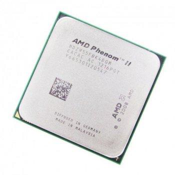 Процессор AMD Phenom II X4 Black 955 (sAM3/4x3.2GHz/125Вт/HDZ955FBK4DGM) Б/У