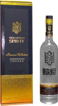 Водка Ukrainian Spirit Украинский дух 0.7 л 40% в подарочной упаковке (4820131391626)