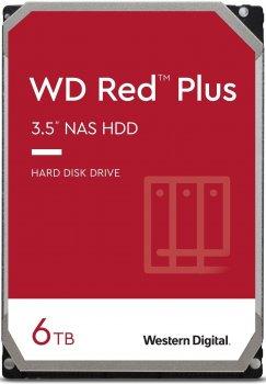 Жорсткий диск WD Red Plus 6 TB - (WD60EFZX)