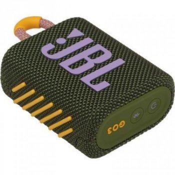 Акустическая система JBL Go 3 Green (JBLGO3GRN)