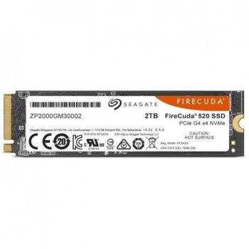 Накопичувач SSD M2 2Tb Seagate FireCuda 520 (ZP2000GM30002) PCIe Gen4x4 Factory recertified