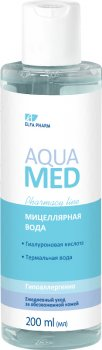 Міцелярна вода Elfa Pharm Aqua Med 200 мл (5901845503587)