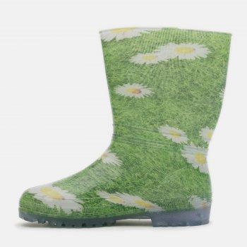 Гумові чоботи Demar Rainny Print 0054A Зелені