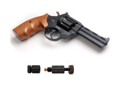 Револьвер під патрон Флобера ЛАТЕК Safari РФ 441 М + обжимка патронів Флобера в подарунок!