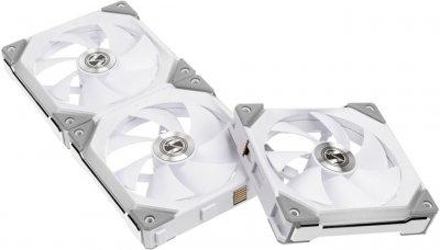 Кулер Lian Li Uni Fan SL120-3 Triple White (G99.12UF3W.00)