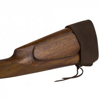 Шкіряний Тыльник на приклад Рушниці Bronzedog Коричневий (10020/2)