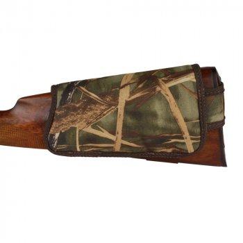 Патронташ на Приклад з Поліестеру Bronzedog Правша 6 патронів калібр 12/16 Коричневий (8102)