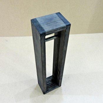 Держатель для туалетной бумаги из натурального дерева IZD Аурум напольный Морион 17х13х7 см ДТБ-000211