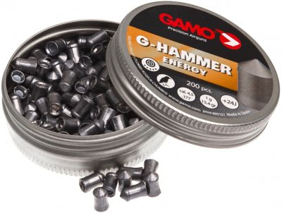 Кульки Gamo G-Hammer 1.0 г 200 шт. 4.5 мм (6322822)