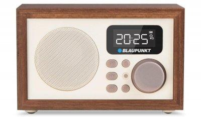 Радиоприемник Blaupunkt HR5BR Коричневый/Бежевый с ЖК-дисплеем и пультом ДУ + USB / microSD / AUX-IN