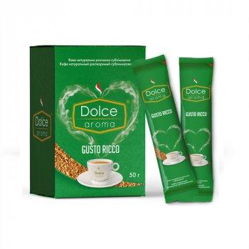 Кофе растворимый Dolce Aroma в стиках 25 стиков по 2 г