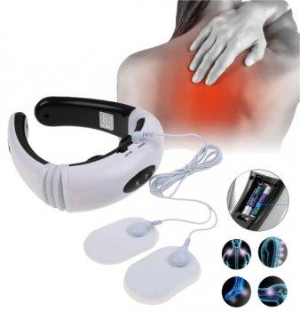 Массажер для шеи импульсный Neck Massager HX-5880, миостимулятор для шеи и тела, физиотерапевтический массажер