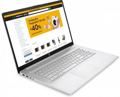 Ноутбук HP Laptop 17-cp0004ua (424A0EA) Silver