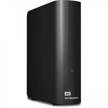 """Зовнішній жорсткий диск 3.5"""" 8TB (USB 3.0) WD Elements Desktop (WDBWLG0080HBK-EESN)"""
