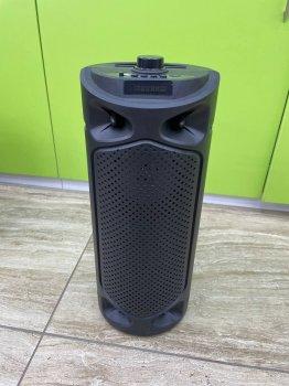 Портативная Bluetooth колонка JBK- 8898, Black, USB, FM, Акустическая система, С музыкальной подсветкой