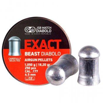 Пули JSB Diabolo EXACT BEAST 4,5mm. 250шт. 1,050г.