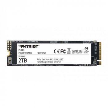 Накопичувач SSD Patriot 2 ТВ M.2 PCI Express 3.0x4 3D NAND TLC (P300P2TBM28)
