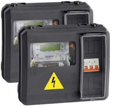 Ящик розподільчий DOT-3.1 для 1-фазних та 3-фазних лічильників електроенергії