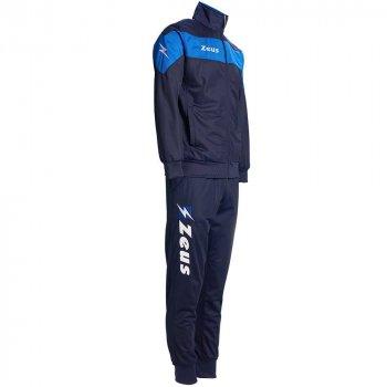Спортивный костюм Zeus TUTA APOLLO Z00412 цвет: темно-синий/голубой