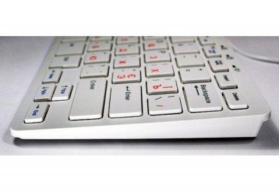 Клавіатура Golden Field K111SW USB, Біла