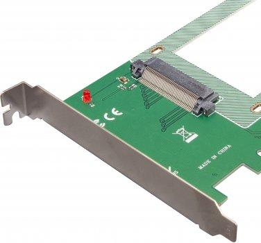 """Плата расширения Frime PCI-E x4 to U.2 SFF8639 2.5"""" NVMe (ECF-PCIEtoSSD005.LP)"""
