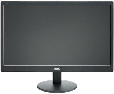"""Монітор AOC 18.5"""" E970SWN Black; 1366x768, 200 кд/м2, 5 мс, D-Sub"""