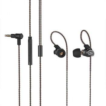 Навушники REMAX Noise Canceling Earphone RM-580 чорні
