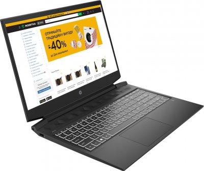 Ноутбук HP Pavilion Gaming 16-a0011ua (423Q5EA) Dark Grey