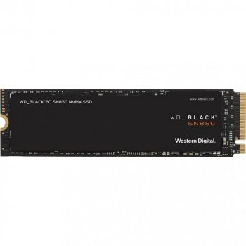 Western Digital Black SN850 500GB NVMe M.2 2280 PCIe 4.0 x4 3D NAND TLC (WDS500G1X0E)
