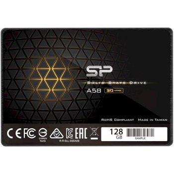 """Silicon Power A58 128GB 2.5"""" SATAIII 3D NAND TLC (SP128GBSS3A58A25)"""