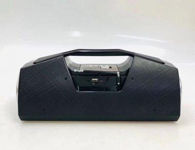 Портативная колонка Golon RX BT 170 S USB+SD+BT с мощным фонариком и солнечной батареей (par_RX BT 170)