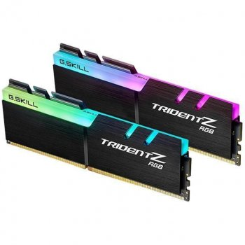 Модуль памяти G.Skill DDR4 64Gb (2x32) Trident Z 3200 MHz (F4-3200C16Q2-256GTZP), б/в