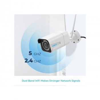 Камера видеонаблюдения Reolink RLC-511W 5MP | Оптический зум 4Х | Wi-Fi 2,4/5 Ггц | IP66