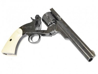 "Пневматичний Револьвер ASG Schofield BB 6"" Корпус - метал"