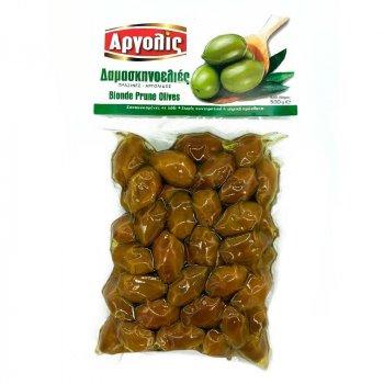 Оливки с косточкой зеленные Blonde Prune Apyonic 500 г
