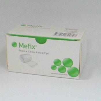 Пластырь фиксирующий из нетканого материала Mefix 10см х 2,5м