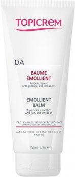 Смягчающий бальзам для лица и тела Topicrem DA Baume Emollient 200 мл (3700281702583)