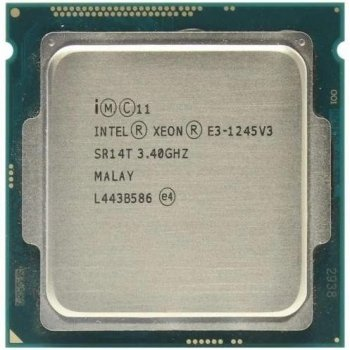 Процессор Intel Xeon e3-1245 v3 socket 1150 (аналог i7-4770) б/у