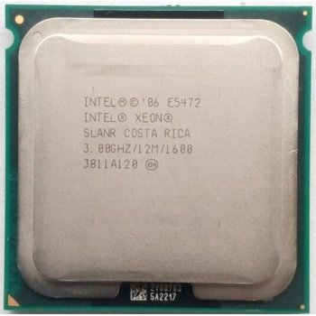 Процессор Intel Xeon e5472 socket 775 б/у