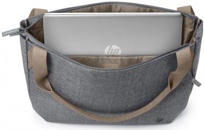 """Сумка для ноутбука HP Renew Tote 14"""" Grey (1A216AA)"""