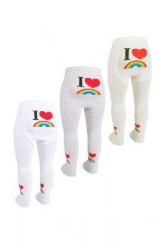 Комплект куртки дитячих колготок для новонароджених дівчаток Bross Туреччина 3 шт. зростання 62 - 68 см 15165