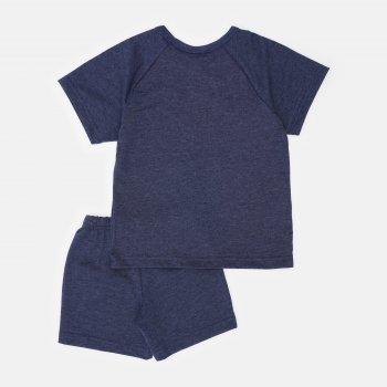 Пижама (футболка + шорты) Smil Explore 104826-1 Синяя
