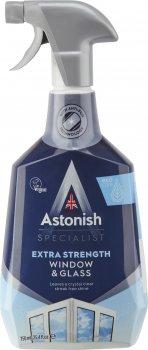 Упаковка засобу для миття вікон і скла Astonish з ефектом антизапотівання 750 мл х 12 шт. (55060060211228)