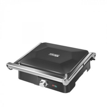 Электрический гриль DSP KB1049 с антипригарным покрытием 1800 Вт с регулировкой температурой Черный