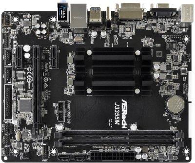 Материнская плата ASRock J3355M (Intel Celeron J3355, SoC, PCI-Ex16) Б/У