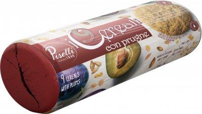 Печенье Piselli Овсяное 9 злаков с черносливом 270 г (8032755324386)