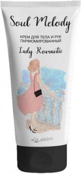 Крем для тіла та рук Liv Delano Lady Romantic Парфумований 200 мл (4811248008118)