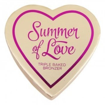 Бронзер MAKEUP REVOLUTION Blushing Hearts Bronzer Hot Summer of Love